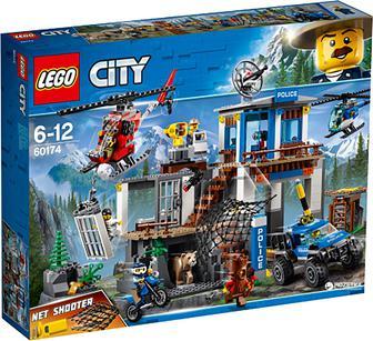 Конструктор LEGO City Штаб-квартира горной полиции