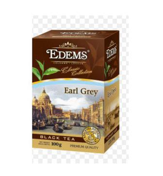 Чай листовий Ерл Грей Зелений Лист Англійський класичний Edems 100г