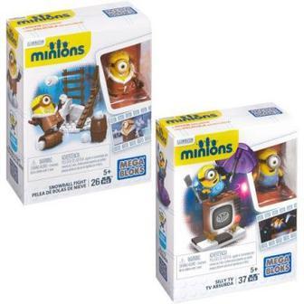 Конструктор Миньоны-весельчаки Mega Bloks Minions (CNF47)