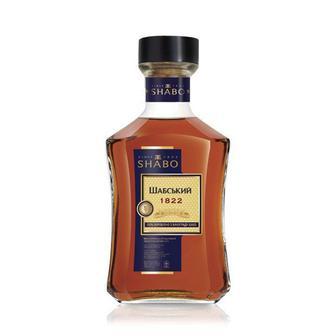 Бренді України Shabo Шабський 1822, Шабський LUXE вин.орд. 40%, 0,5л