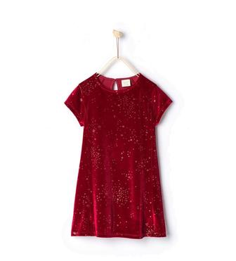 Блискуча оксамитова сукня  0371/707