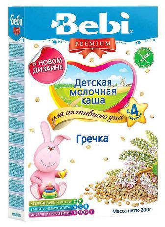 Каша Kolinska Bebi Premium молочная гречиха с 4 месяцев 200 г