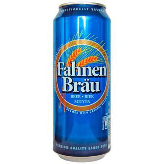 Пиво Fahnen Brau 0.5л