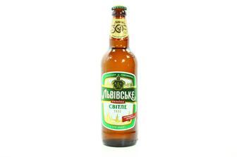 Пиво «Львовское светлое», 0.5л
