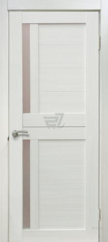 Дверне полотно ПВХ ОМіС Cortex 01 ПО 600 мм дуб біанко