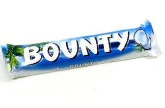 Шоколадні батончики Bounty