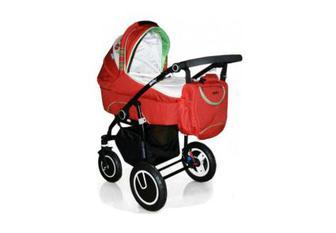 Дитяча коляска універсальна 2 в 1 Geoby C3011-RMZF-G