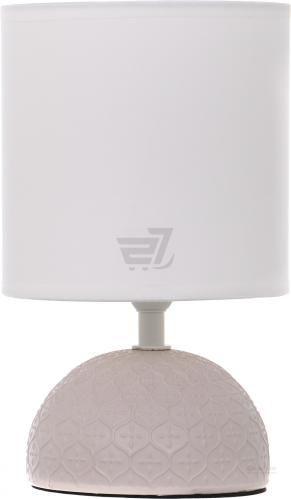Настільна лампа декоративна Accento lighting 1x40 Вт E14 крем ALT-T-D4020CR