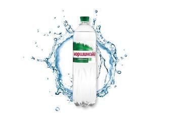 Вода минеральная слабогазированная Моршинская 1,5л