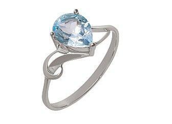 Золотое кольцо с топазом 01-16483793