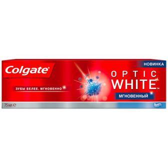 Зубна паста Colgate Optic White Миттєвий 75мл