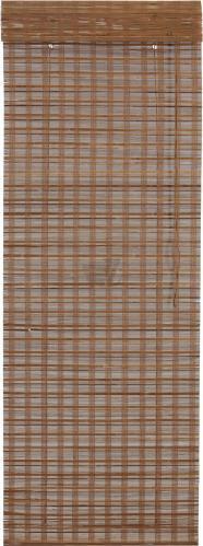 Римська штора Bella Vita Бамбук 100x160 см коричневий