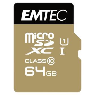 Emtec MicroSDXC 64GB Class 10, UHS-I ECMSDM64GXC10GP, OEM упаковка