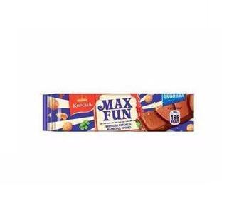 Шоколад молочний з попкорном і карамеллю або з мармеладом Max Fun Корона 38 г