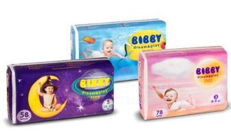 Детские подгузники Bibby Dream&Play Повна Чаша