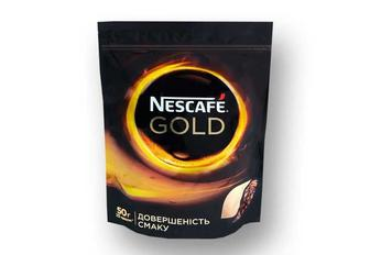 Кава Gold, розчинна сублімована Nescafe 50 г