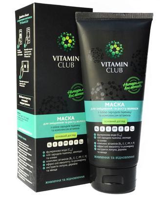 VitaminClub Маска для зміцнення та росту волосся 200мл