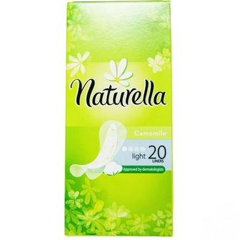 Прокладки ежедневные, 20 шт, Naturella