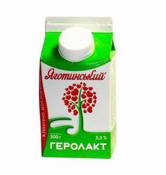 Напій к/м 3,2% Геролакт Яготинський 500 г
