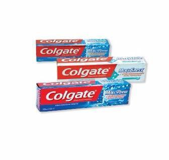 Зубна паста Колгейт макс блиск, втбухова м'ята, ніжна м'ята 100 мл