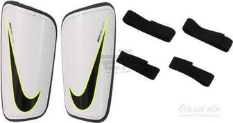 Щитки футбольні Nike Hard Shell Slip SP2101-100 р. M білий