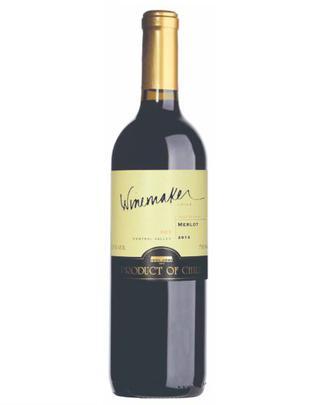 Вино Мерло червоне сухе Winemaker 0,75л
