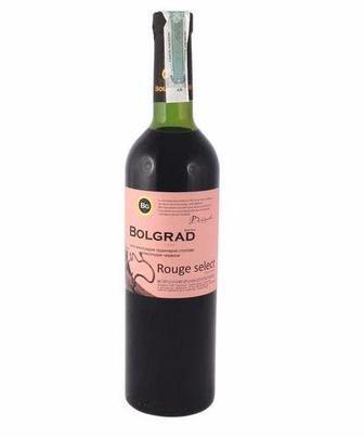Вино Мускат Селект напівсолодке біле,червоне, Болград 0,75 л