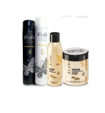 Засоби моделювання та догляду за волоссям  зачіски Sias