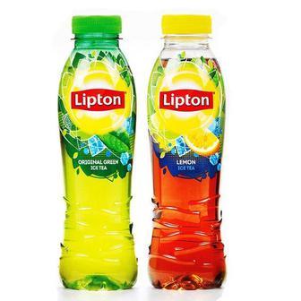 Чай холодний Lipton Ice Tea зелений та чорний з лимоном 1 л
