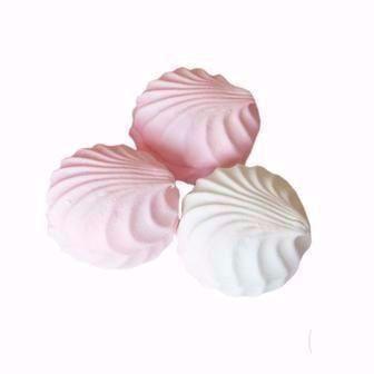 Зефір біло-рожевий та пломбір  Жако  100 г