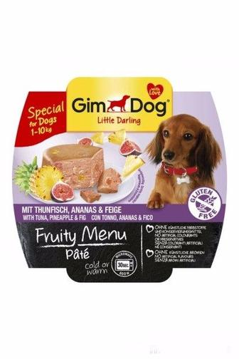 Набір консерв для собак паштет Fruity Menu GimDog 100 г