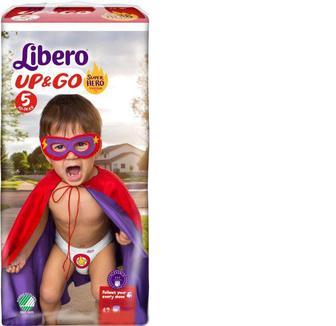 Підгузники Libero Up&Go 5 10-14кг, 42шт,уп