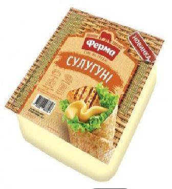 Сир м'який Сулугуні Ферма 45% 250г