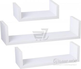 Комплект полиць Нансі білий