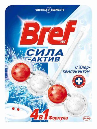 Засоби для чищення та освіжувачі для туалету Бреф