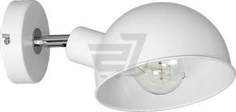 Бра LUMINEX Devin 1x60 Вт E27 білий 1273