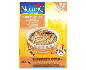 Пластівці житні Nordic, 600г