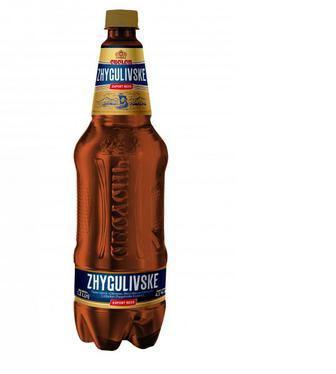 Пиво Жигулевское Export 4,1% пет., Оболонь, 1,2л