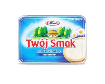 Сир Piatnica Twoj Smak вершковий 64% жиру, натуральний, 135г