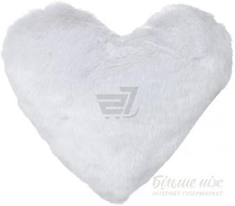 Подушка декоративна Heart 30x40 см сріблястий La Nuit