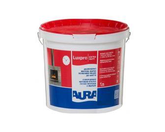 Фарба інтер'єрна абсолютноматова Lux Pro Extramatt об'єми: 1/ 2,5/ 5/ 10 л