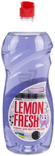 Засіб для ручного миття посуду Gold Drop Lemon Fresh з наночастинками срібла 1,5л