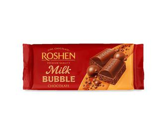 Шоколад молочний Roshen, пористий, 80г
