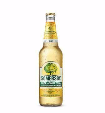 Сидр  Сомерсбі яблучний або з грушевим соком  Somersby 0.5 л