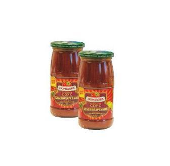Соус томатний фірмовий  Краснодарський 450 г