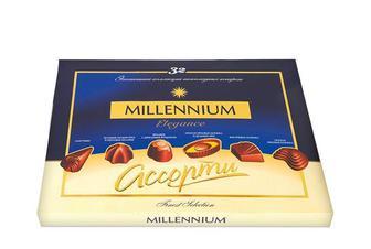 Конфеты Elegance Ассорти, молочный шоколад  Millennium   285 г