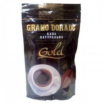 Кава Grand Dorado Gold 130г Золоте зерно