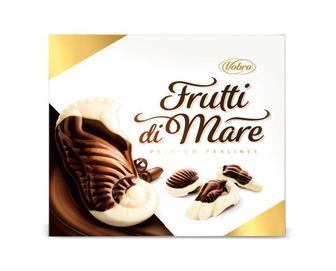 Цукерки Vobro Frutti di Mare Crunchy праліне, 205 г