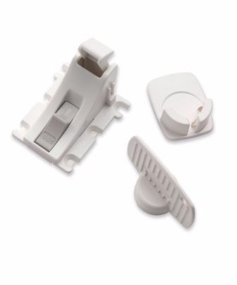 Магнітні замки для шухляд та шаф - 1 замок/1 ключ від Mothercare
