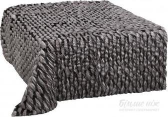 Покривало Jacquard Fur 150x200 см La Nuit сірий